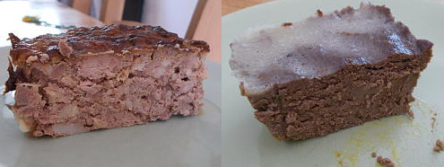 pig liver and chicken liver pate